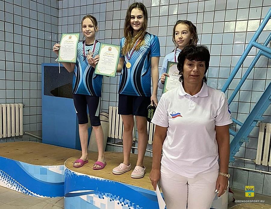 Первенство области по плаванию «Веселый дельфин»